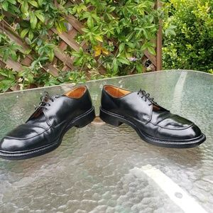 Allen Edmonds Black Brentwood Moc Toe Lace up